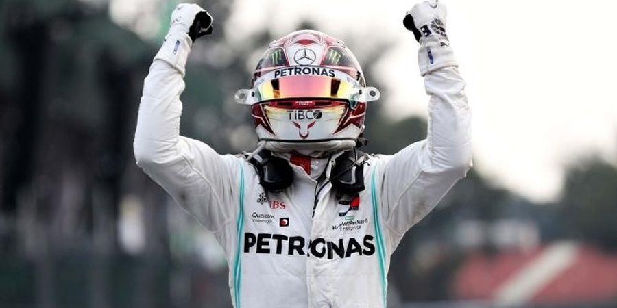 Hasil F1 GP Meksiko 2019 - Raih Kemenangan Ke-100, Hamilton Belum Kunci Gelar Juara Dunia