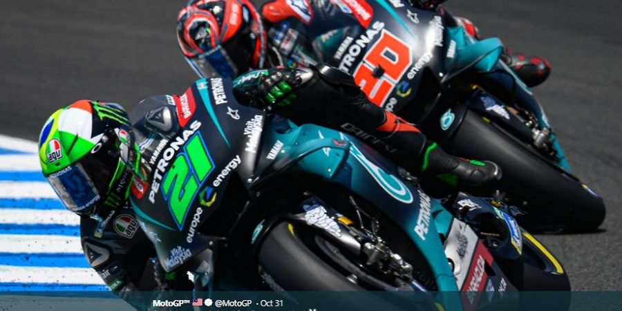 Harapan Morbidelli untuk Valentino Rossi pada MotoGP Malaysia 2019