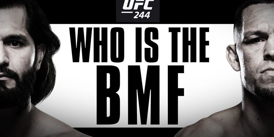 UFC 244 - Penampakan The Rock dan Sabuk BMF Bagi Pemenang Masvidal Vs Diaz