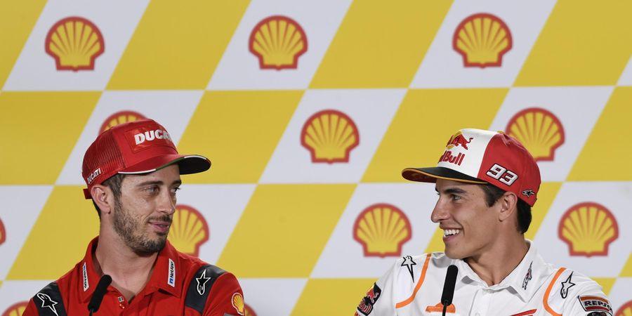 Kalah Bersaing dengan Marc Marquez, Andrea Dovizioso Masih Kecewa