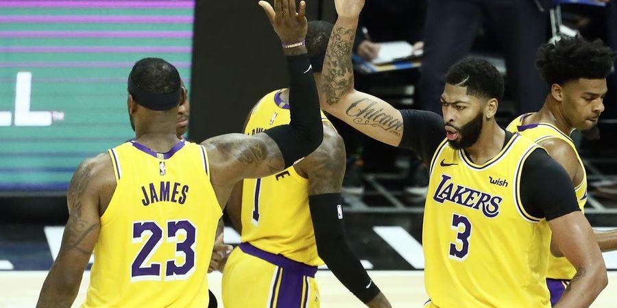 Gelar 'Block Party', Los Angeles Lakers Kalahkan Detroit Pistons