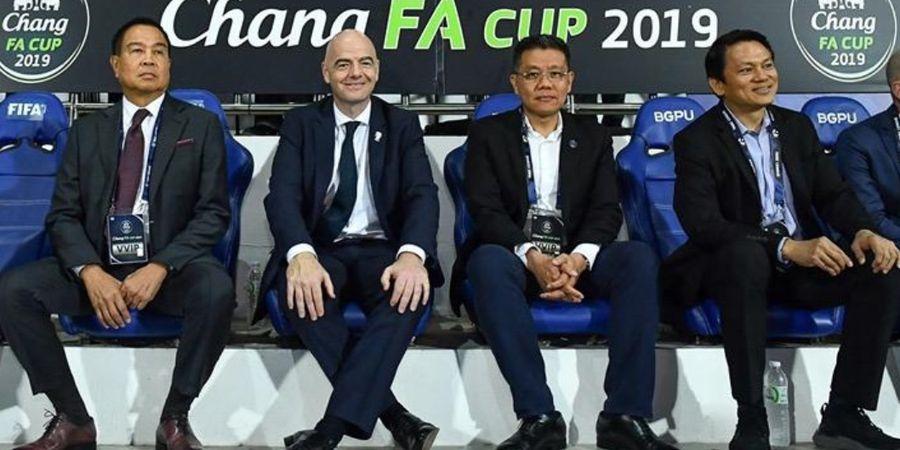 Presiden FIFA Berikan Dukungan Terhadap ASEAN Club Championship