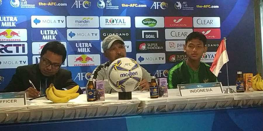 Pamit, Tugas Fakhri Husaini bersama Timnas U-19 Indonesia Sudah Selesai