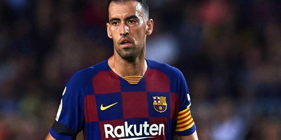 Sakit Perut, Gelandang Bertahan Senior Barcelona Cuma Main 68 Menit