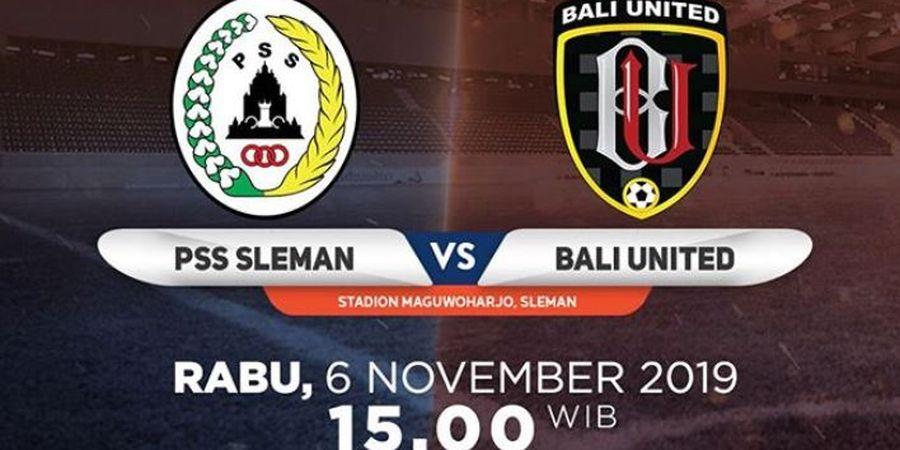 Link Live Streaming PSS Sleman Vs Bali United, Teco Ingin Timnya Tampil Lebih Maksimal