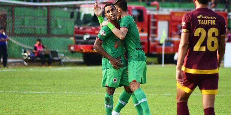 Arema FC Tertinggal Satu Gol dari Kalteng Putra pada Babak Pertama
