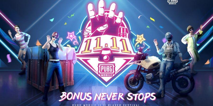 PUBG Mobile Ikut Semarakkan Hari Belanja Online Nasional 11.11