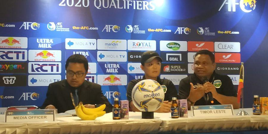 Timnas Indonesia Didukung Pelatih Timnas U-19 Timor Leste untuk Datangkan Shin Tae-yong