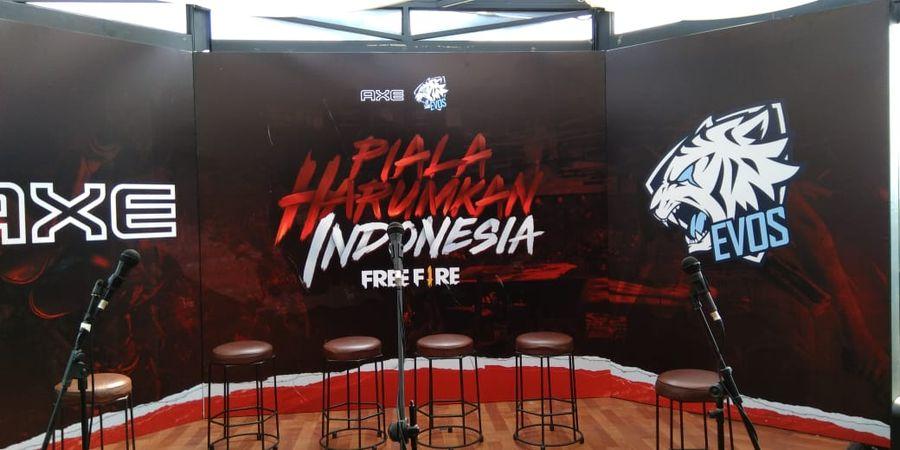 Pemenang Kompetisi Nasional Free Fire Diperkenalkan Axe dan Evos Esports