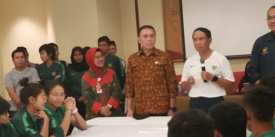 Kontingen Sepak Bola Indonesia di SEA Games 2019 Diminta Kurangi Pemakaian Medsos