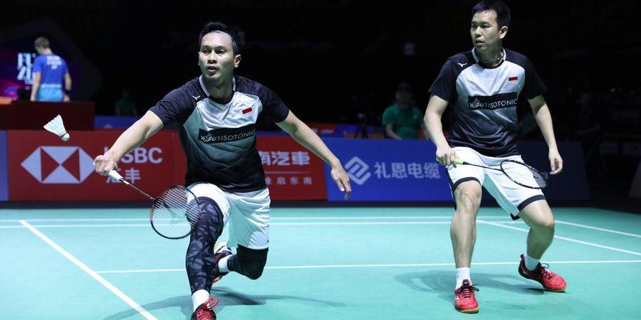 Hasil Hong Kong Open 2019 - Menangi Laga dalam 20 Menit, Ahsan/Hendra Melaju