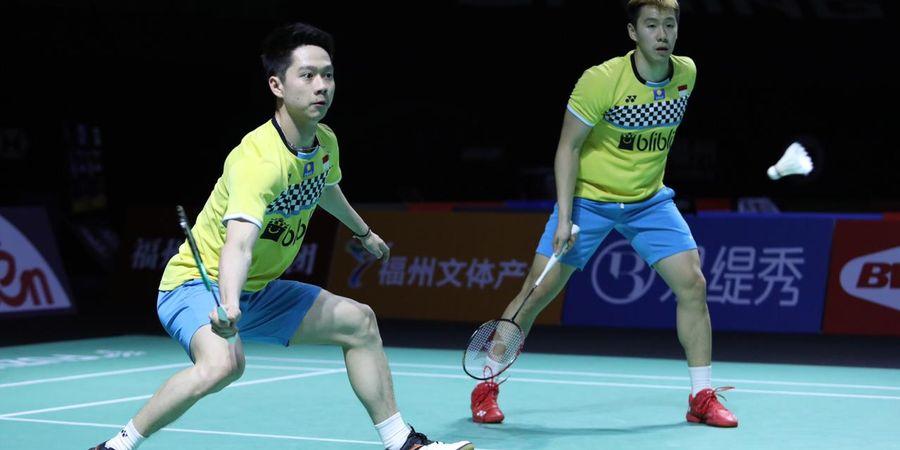 Link Live Streaming Fuzhou China Open 2019 - Sebentar Lagi, Marcus/Kevin Akan Berjuang Pertahankan Gelar Juara