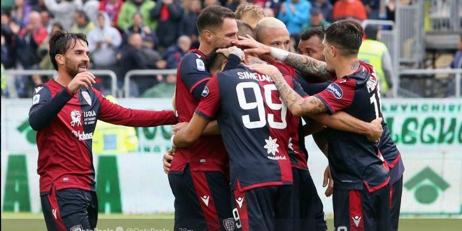 Hasil Liga Italia, Radja Nainggolan Cetak 3 Assist dan 1 Gol Super, Cagliari Hajar Fiorentina