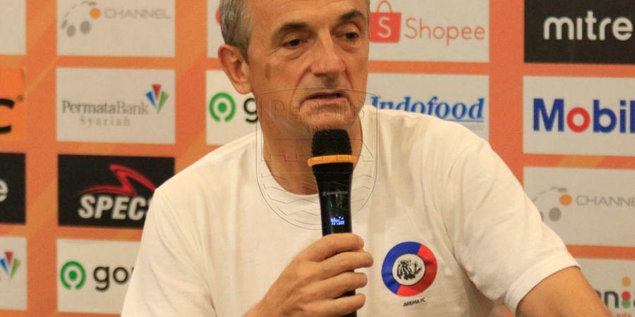 Satu Pemain Arema FC Hilang, Pelatih Serahkan Persoalan kepada Manajemen Klub