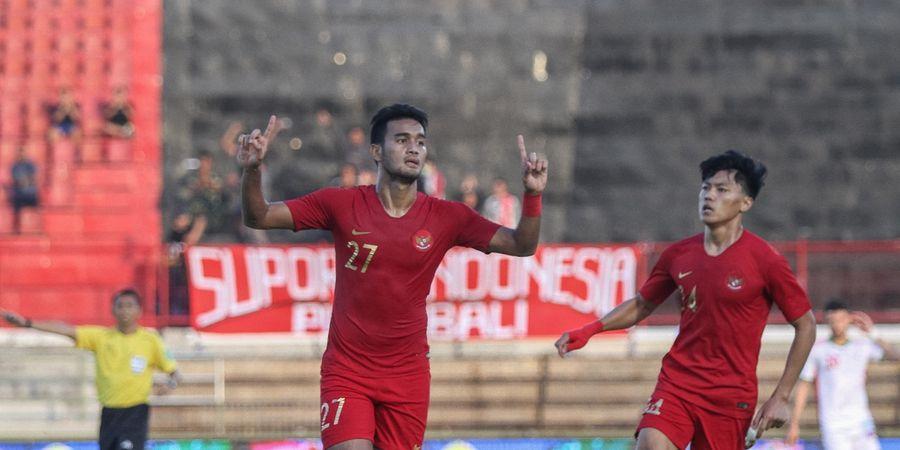 Susunan Pemain Timnas U-22 Indonesia Vs Iran - Tak Ubah Senjata Utama