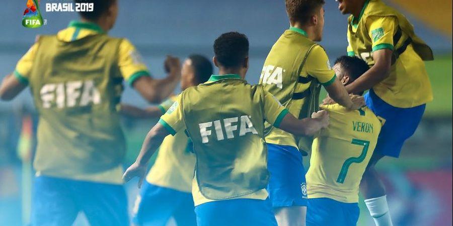 Final Piala Dunia U-17 2019, Timnas Brasil Ditantang Meksiko