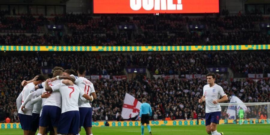 Timnas Inggris Ukir Kemenangan Telak Bersejarah di Kualifikasi Euro 2020