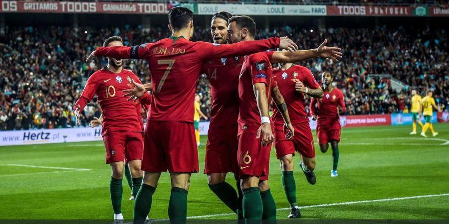 Hasil Kualifikasi Euro 2020 - Cristiano Ronaldo Borong 3 Gol, Portugal Mengamuk