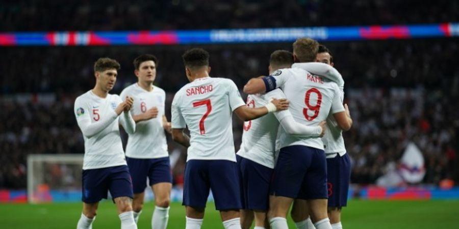 Hasil Kualifikasi Euro 2020 - Hat-trick Gol dan Assist, Warnai Pertandingan Ke-1000 Inggris