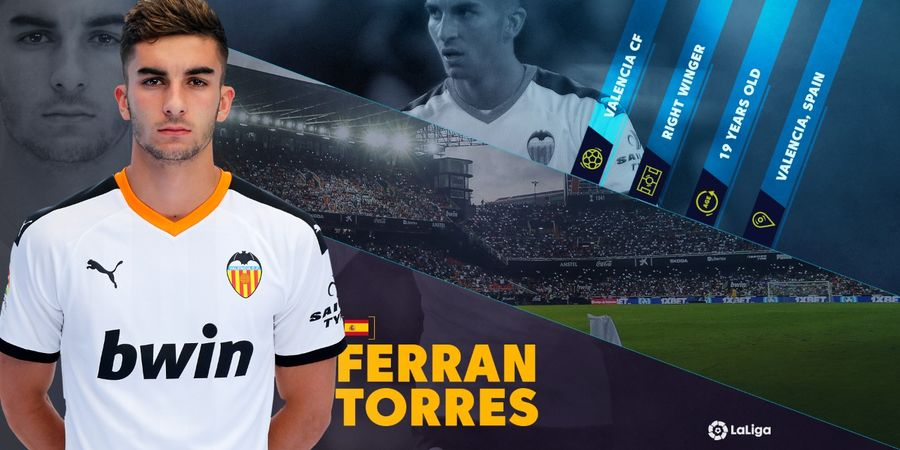 Ferran Torres, Calon Bintang Masa Depan LaLiga dari Valencia