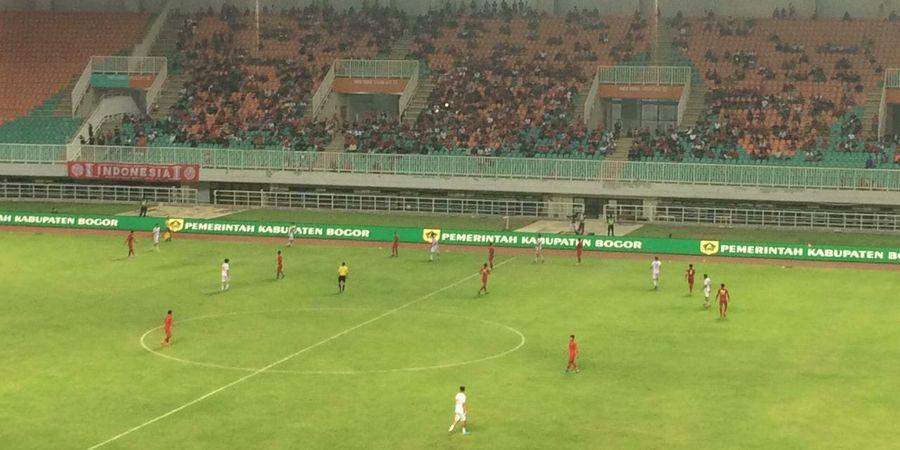 Gol di Pengujung Laga Pastikan Kemenangan Timnas U-22 Indonesia atas Iran