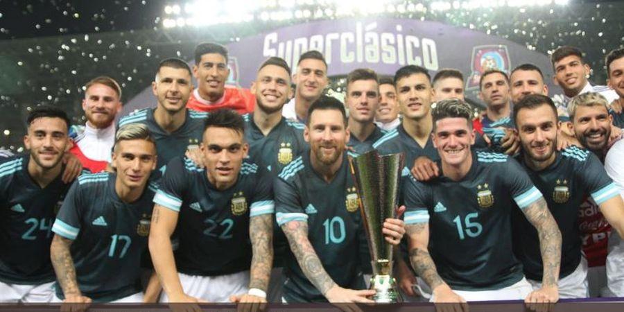 VIDEO Pergerakan Ciamik Messi Ketika Meloloskan diri dari 8 Pemain Uruguay