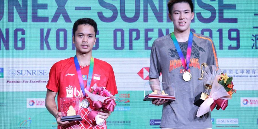 Rekap Final Hong Kong Open 2019 - China Rebut 2 Gelar, 2 Wakil Indonesia Jadi Runner-up