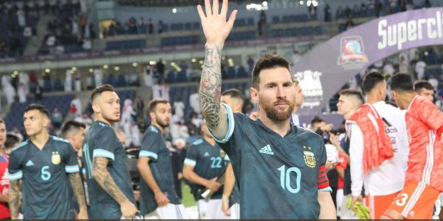 Kalau Saja Bela Timnas Uruguay, Lionel Messi Sudah Juara Piala Dunia 2 Kali
