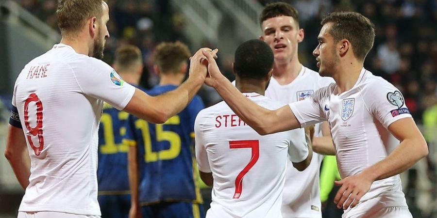 Hasil Kualifikasi Euro 2020 - Libas Kosovo, Inggris Mantapkan Posisi Puncak
