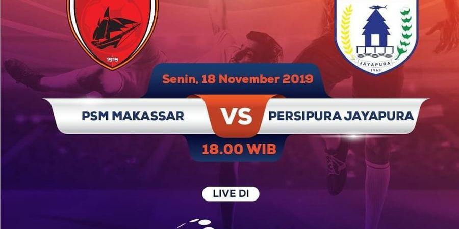 Link Live Streaming PSM Makassar Vs Persipura Jayapura, Laga Tunda Pekan Keempat