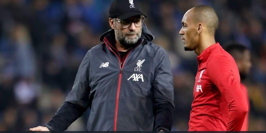Pelatih Liverpool Minta Satu Hal kepada Fabinho yang Gantikan Peran Van Dijk