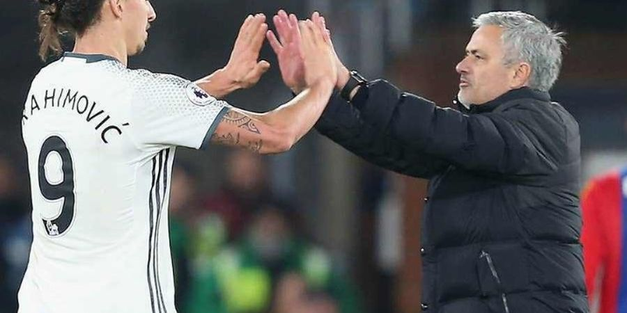 Zlatan Ibrahimovic Jadi Rekan Terbaik Bek Tengah Manchester United