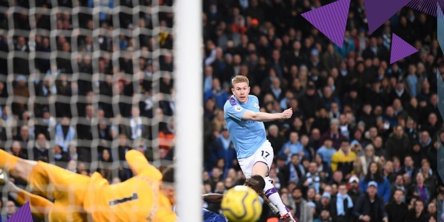 Babak I Liga Inggris - Lakukan Comeback, Man City Sementara Unggul 2-1