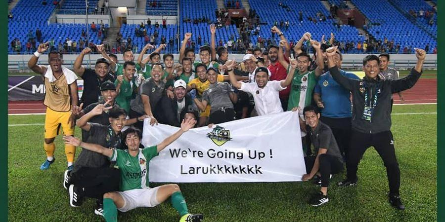 Ditinggal Pemain Indonesia, Klub Malaysia Turun Kasta ke Level Ketiga