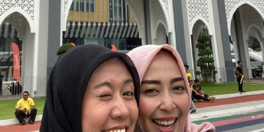 Sekrup 'Diterima' Istri Pemain Arema saat Indonesia Dijamu Malaysia