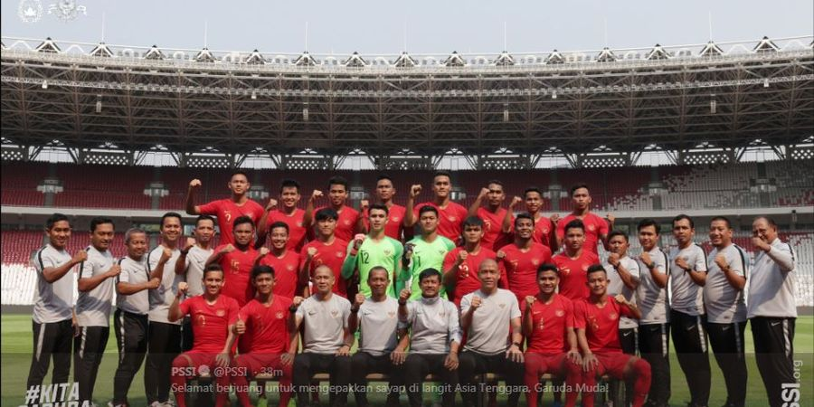 Link Live Streaming Timnas Indonesia Vs Thailand di SEA Games 2019