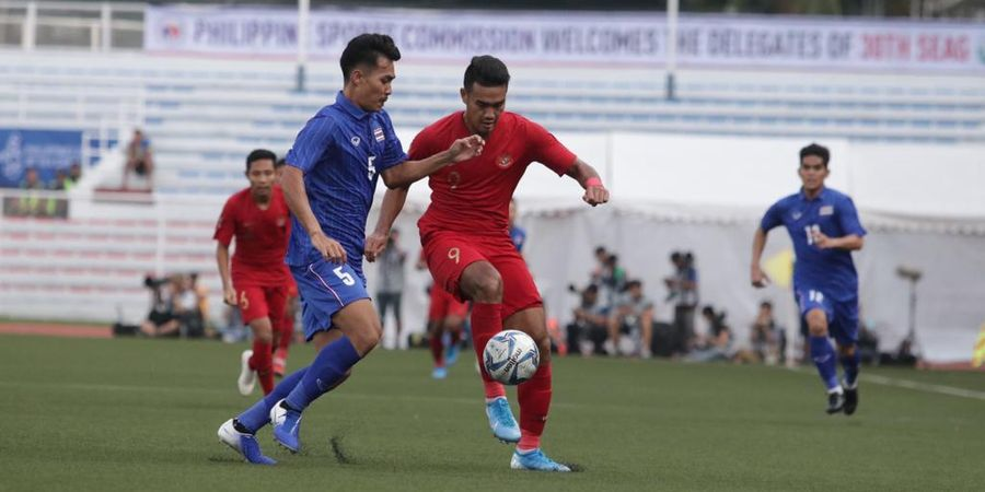 SEA Games 2019 - Kapten Thailand Sebut Timnya Kurang Fokus Saat Hadapi Indonesia