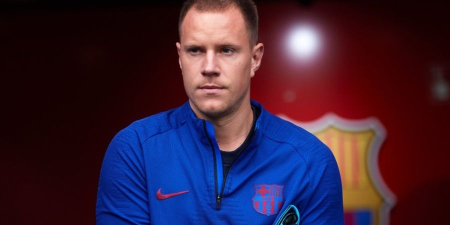 Ucapan Terima Kasih Ter Stegen untuk Eks Pelatih Barcelona