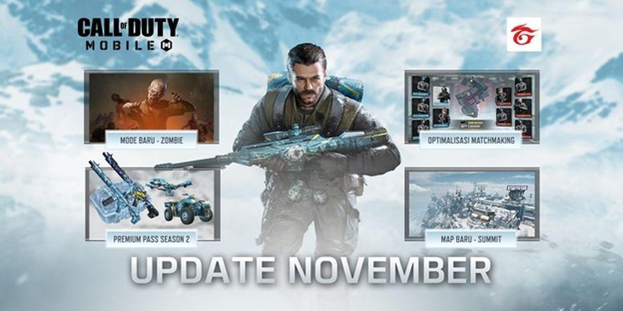 Update November, Call of Duty®: Mobile - Garena Hadirkan Mode, Karakter, dan Map Baru
