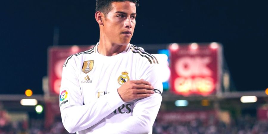 Butuh Penghubung Serangan, Inter Milan Bidik James Rodriguez