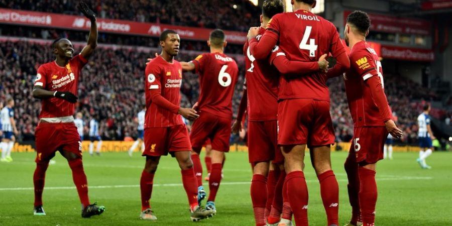 Link Live Streaming Liverpool Vs Everton - Tuan Rumah Masih Unggul