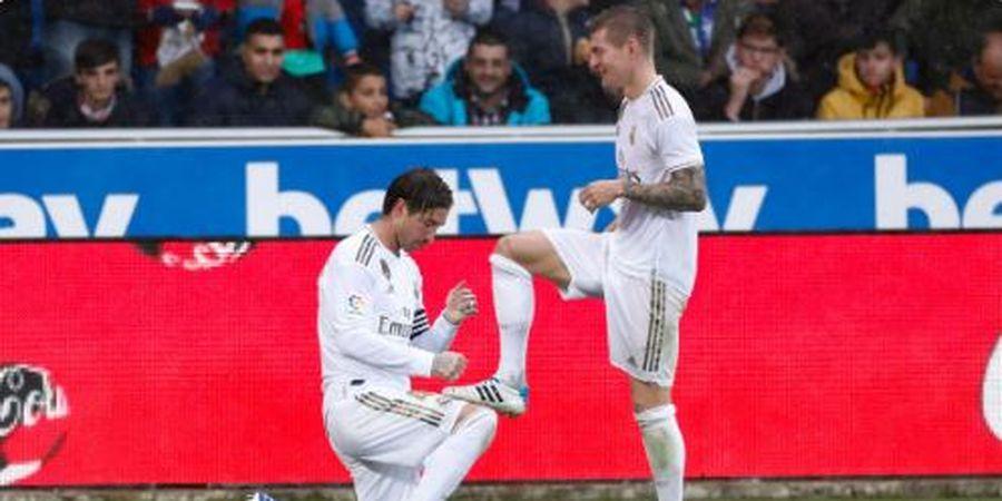 Hasil Lengkap dan Klasemen Liga Spanyol - Ramos Semir Sepatu, Real Madrid ke Puncak