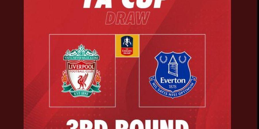 Hasil Undian Piala FA, Liverpool Lakoni Derbi, Man United Hadapi Musuh Terkutuk