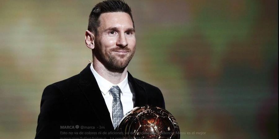 Rekap Hasil Ballon d Or 2019: Trofi untuk Lionel Messi, Matthijs de Ligt, Alisson, dan Megan Rapinoe