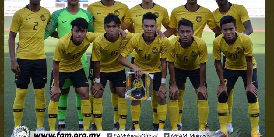 Sepak Bola SEA Games 2019 - Malaysia Gagal Lolos dari Fase Grup