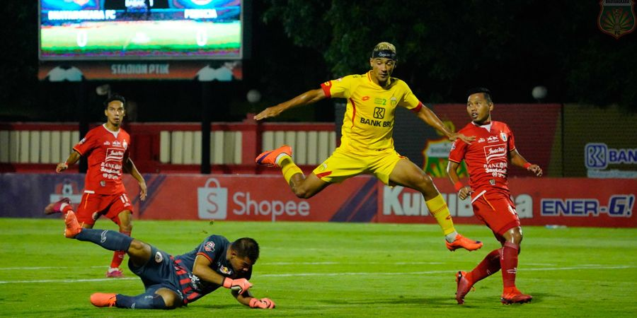 Tiga Gol Bhayangkara FC Berbuah Penyesalan Persija