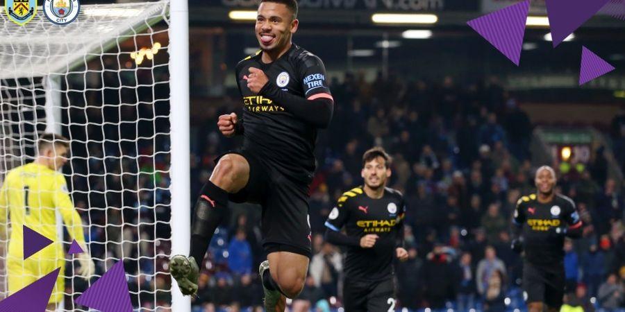 Hasil Liga Inggris - Bantai Burnley, Man City Pangkas Jarak dengan Liverpool