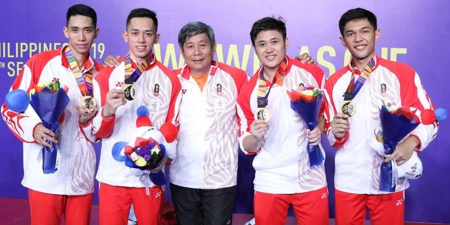 SEA Games 2019 - Pelatih Mengaku Kecewa dengan Performa Fajar/Rian