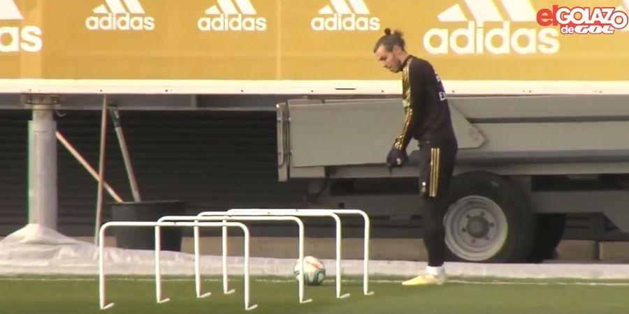 VIDEO - Bale Malah Lakukan Gerakan Pukul Golf di Sesi Latihan Real Madrid