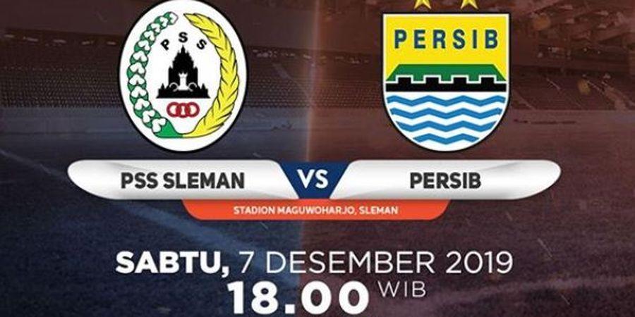 Link Live Streaming PSS Sleman Vs Persib Bandung, Pekan 31 Liga 1 2019